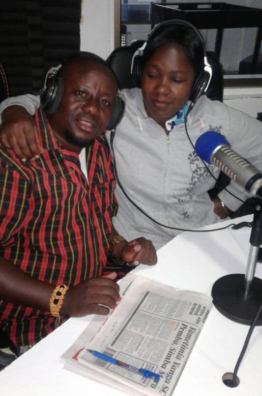 Brother K mwigizaji wa Filamu akiwa katika mahojiano na mtangazaji