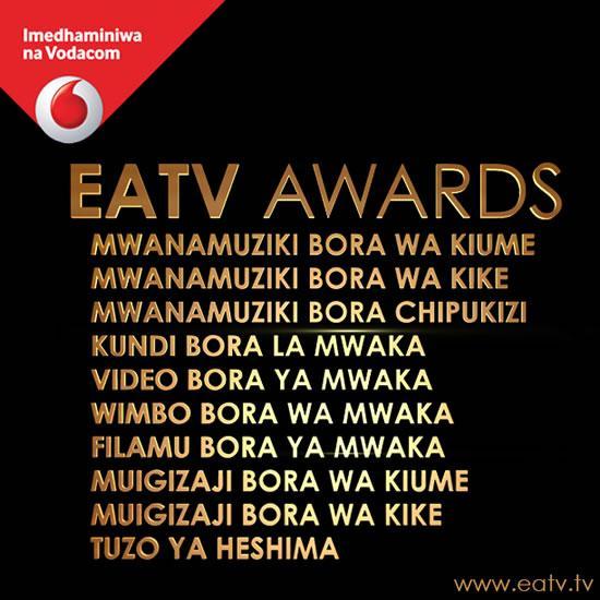 Eatv Awards Category
